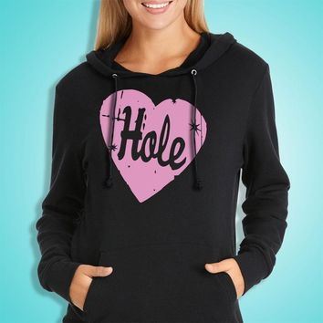 Hole Band 90 S Grunge Courtney Love Riot Grrrl Women'S Hoodie