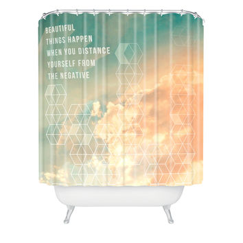 Gabi In The Clouds Shower Curtain