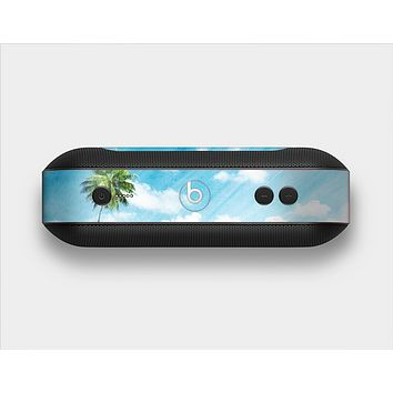 The Paradise Beach Palm Tree Skin Set for the Beats Pill Plus