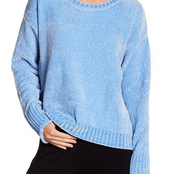 PJ SALVAGE   Ribbed Knit Chenille Pullover   Nordstrom Rack