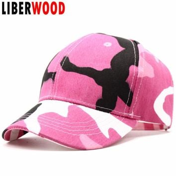 Trendy Winter Jacket LIBERWOOD 2018 New CAMO Baseball Caps Men Camouflage Tactical Caps Casual Snapback hats for women dad hat trucker hat bone male AT_92_12