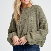 It Was Always You Sweater - Olive