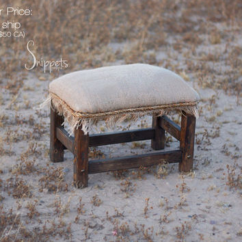Rustic Bench Photo Prop - newborn photography props, newborn bed prop, wooden bed photo prop, toddler photo prop