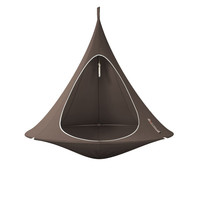 Double Hanging Chair Taupe