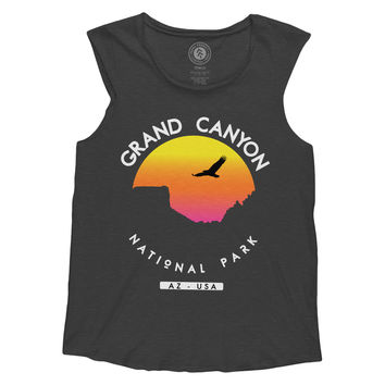 Grand Canyon Sunset Sleeveless Tank