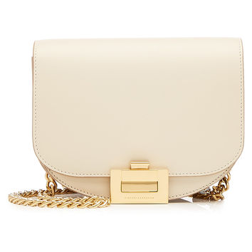 Half Moon Box Leather Shoulder Bag - Victoria Beckham | WOMEN | KR STYLEBOP.COM