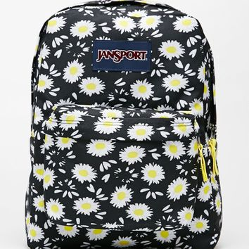 JanSport Superbreak Black Lucky School Backpack - Womens Backpack - Black - One