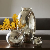 Mercury-Glass Vases | west elm
