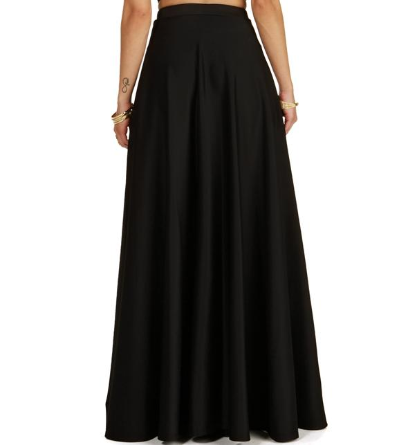 c993463313 Black Grand Scuba Maxi Skirt from Windsor | Bottoms