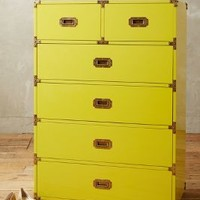 Lacquered Wellington Six Drawer Dresser by Anthropologie