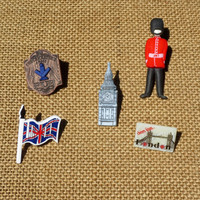 London England Pin Set British Pin Brooch Red Coat Tie Tack Lapel Mens Gift London Jewelry Flag Pin CELEBRATION SALE Buy 1 Get 2 Free