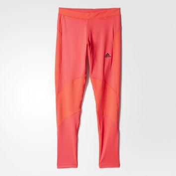 adidas Techfit Climawarm Long Tights - Orange | adidas US