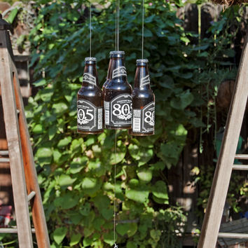 805 Four Beer Bottle Wind Chime