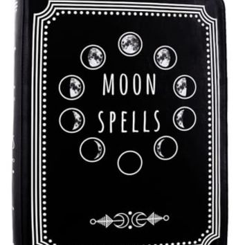 Restyle Moon Spells Gothic Book Bag   Attitude Clothing