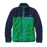 Patagonia Women's Full-Zip Snap-T® Fleece Jacket | Tumble Green