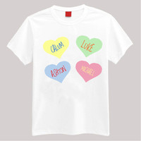 5SOS Hearts T Shirt