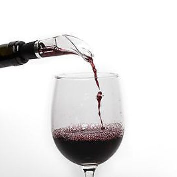 Vino Aria - Red Wine Aerator - Unique Drop Stop and Pourer - Bar Wine Accessory