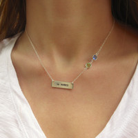 Seahawks Bar Necklace