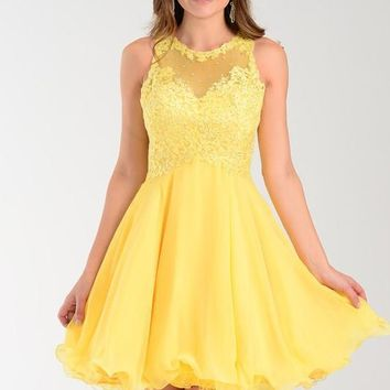 Cute homecoming dress poly #7456