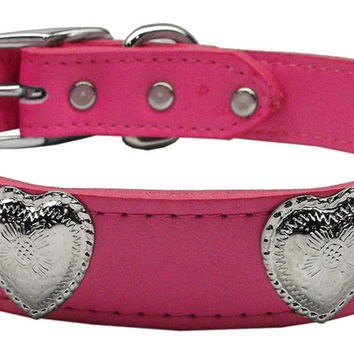 Western Heart Leather Pink 26