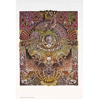 Grateful Dead Psychedelic Mandala Poster 24x36