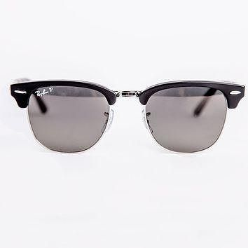 Ray-Ban Folding Polarized Clubmaster Sunglasses Classic RB2176