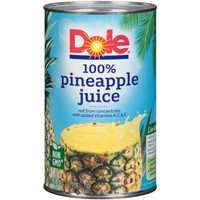 Dole 100% Pineapple Juice, 46 fl. oz. Can - Walmart.com