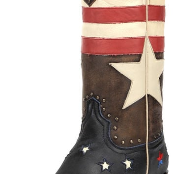 Women's Redneck Riviera Freedom Narrow Square Toe Boot - Vintage Cinnamon