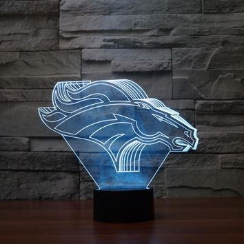 3D LED Animal Lamps 11 Different Animals With 7 Changable Colors