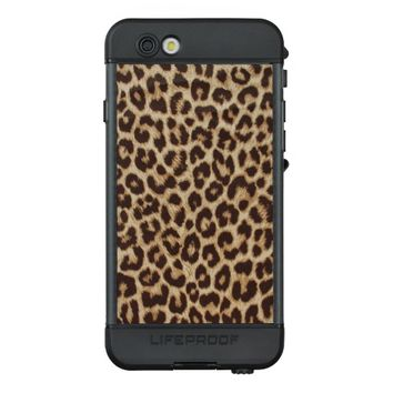 Leopard Print LifeProof NUUD iPhone 6s Case