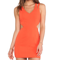 Jay Godfrey Tipton Dress in Orange