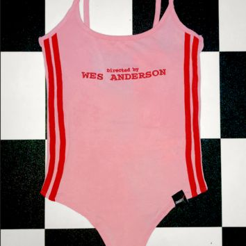 SWEET LORD O'MIGHTY! WES ANDERSON BODYSUIT IN PINK