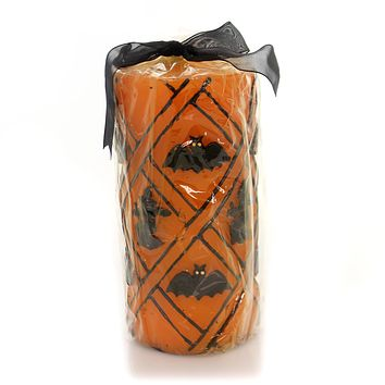 Halloween Heaventree Witch Bat Candle Halloween Decor