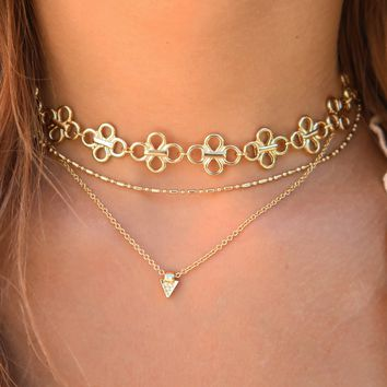 Just As Charming Necklace: Gold