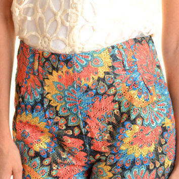 Kaleidoscope Shorts Bright - Online Shopping for Dress, Shop Dresses in Singapore & International