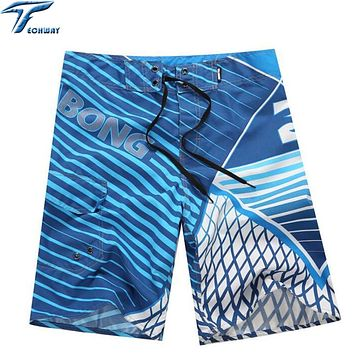 Mens High Quality Board Shorts for Summer Surf Beach Swim Bermuda Style Quick Dry Boardshorts