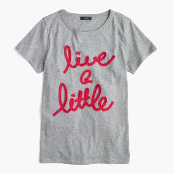"""Live a little"" T-shirt : Women t-shirts & tank tops 