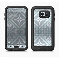 The Knitted Snowflake Fabric Pattern Full Body Samsung Galaxy S6 LifeProof Fre Case Skin Kit