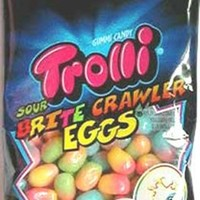 Trolli Sour Brite Eggs, 4-Ounce (Pack of 12)