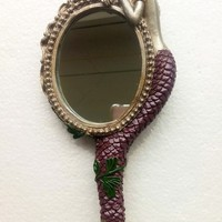 Beauty - Temptress Reflection Mermaid Hand Mirror
