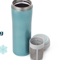 Ice Blue Timolino (16 oz) - Large Stainless Steel Travel Mug | DavidsTea