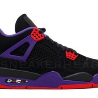 BC QIYIF Nike Air Jordan Retro 4 NRG Raptors Black University Red Court Purple AQ3816-056 2018 PRE ORDER