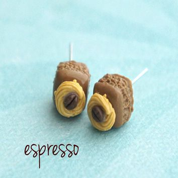 Brownie Bites Stud Earrings