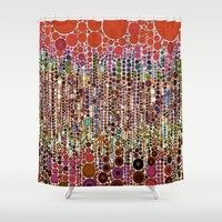 :: Sangria :: Shower Curtain by :: GaleStorm Artworks ::