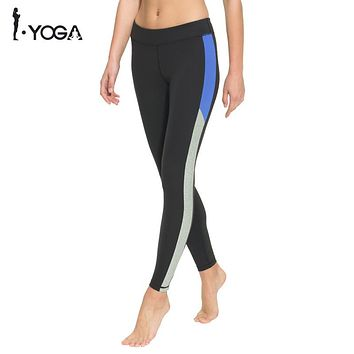 Fitness Women Yoga Legging Activewear Pants High Waist Mesh Tights