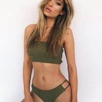 Buy Our Tulum Bikini in Khaki Online Today! - Tiger Mist