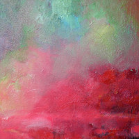 Abstract Art Oil Painting Original Landscape by EastwoodArt
