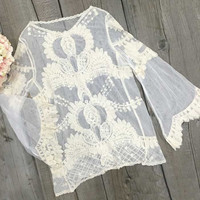 Cupshe Beauty Girl Lace Top