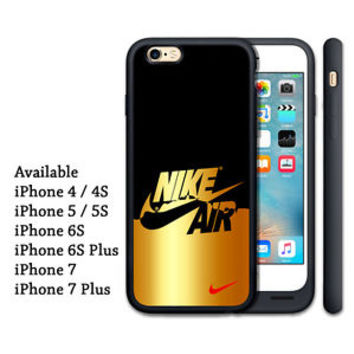 Golden Nike Logo Best Print On Hard Cover Case For iPhone 5/5s, 6/6s, 6/6s plus