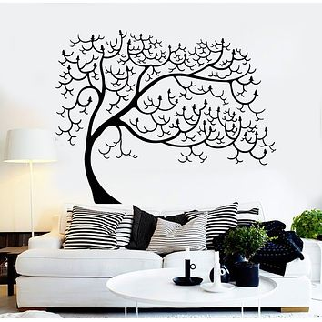 Vinyl Wall Decal Tree Abstract Nature Forest Art Decor Stickers Mural (g335)